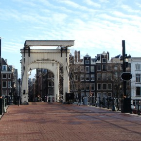 Magere Brug Puente Amsterdam 1