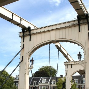 Magere Brug Puente Amsterdam 2