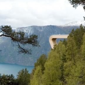 Mirador Aurland Noruega 12