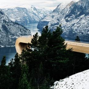 Mirador Aurland Noruega