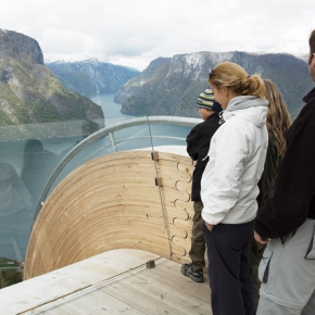 Mirador Aurland Noruega 5