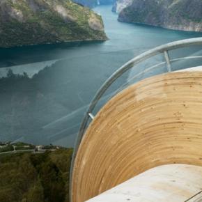 Mirador Aurland Noruega 6