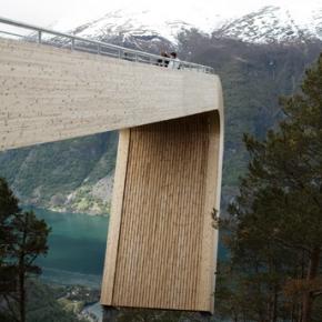 Mirador Aurland Noruega 7