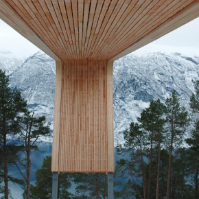Mirador Aurland Noruega 8