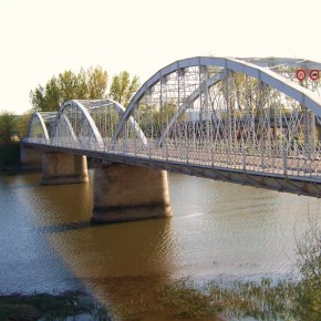Puente de Hierro de Coria