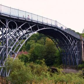 Puente de Ironbridge Reino Unido