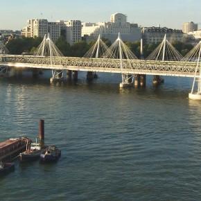 Puentes de Hungerford y del Golden Jubilee