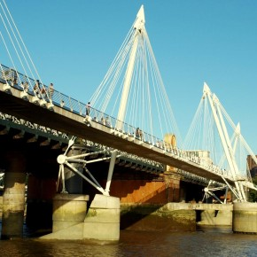 Puente Hungerford Golden Jubilee Londres