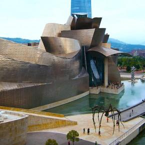 Pasarela en el museo Guggenheim