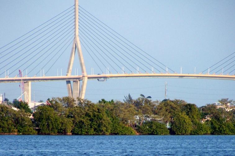 Los puentes colgantes de mexico