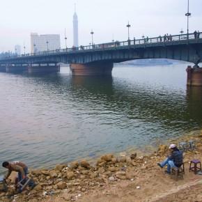 Puente de Qasr al Nil El Cairo Egipto