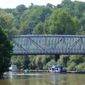 Puente de madera de Remseck