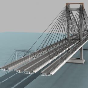 Vídeo sobre el proyecto de ampliación del puente de Rande, en Vigo.