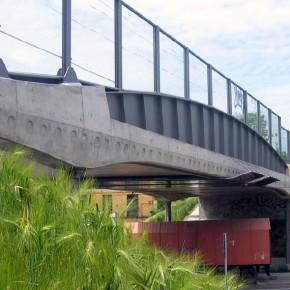 Puente sobre la calle Lindenthaler
