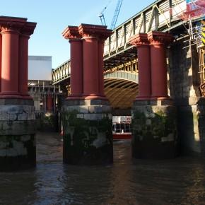 Puente ferroviario de Blackfriars (Londres, Reino Unido)
