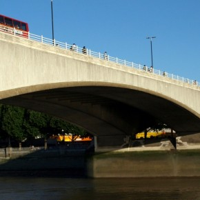 Puente de Waterloo Bridge Londres
