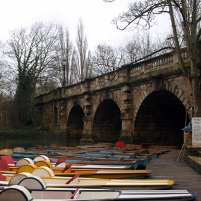 Puente Magdalen Oxford