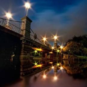 Puente Public Garden (Boston, EEUU)