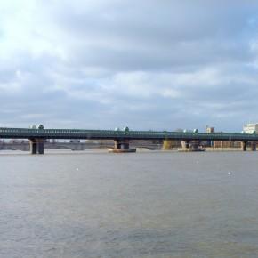 Puente ferroviario de Putney (Londres, Reino Unido)