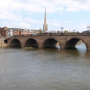 Puente de Worcester (Worcester, Reino Unido)