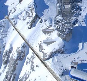 Vídeo sobre la pasarela colgante más elevada de Europa