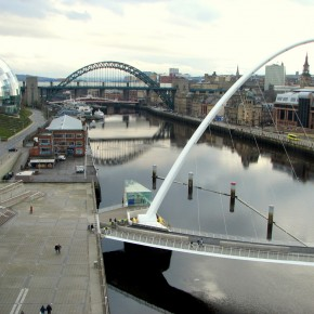 Puente Gateshead Millenium Footbridge