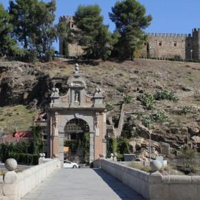Puente de Alcántara en Toledo (fotografía de Thierry Lacroix)