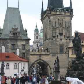 Puente de Carlos, Praga (fotografía de Thierry Lacroix)