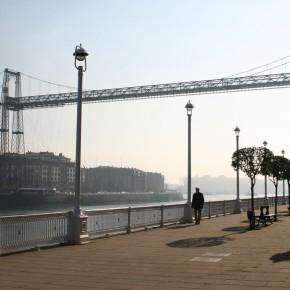 Puente colgante de Portugalete (fotografía de Thierry Lacroix)