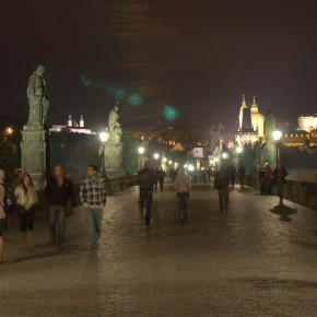 Puente de Carlos, Praga (fotografía de José Vicente Plasencia)