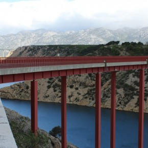 Puente viejo de Maslenica (fotografía de Thierry Lacroix)