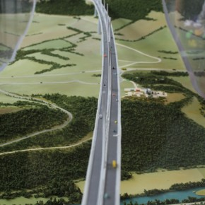 Viaducto de Millau (fotografía de Thierry Lacroix)