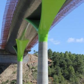 Viaducto sobre el Río Guarga 1