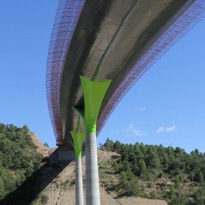 Viaducto sobre el río Guarga