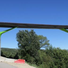 Viaducto sobre el Río Guarga 6