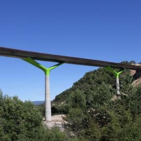 Viaducto sobre el Río Guarga 7