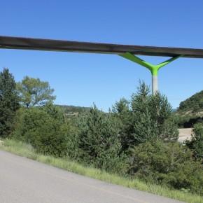 Viaducto sobre el Río Guarga 9