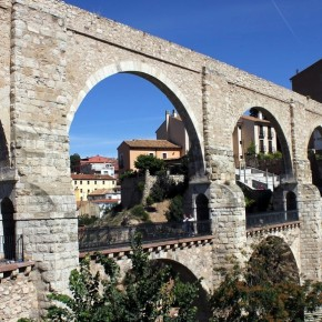 Acueducto de los Arcos (fotografía de Thierry Lacroix)